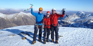 Introduction to Winter Climbing in Glencoe