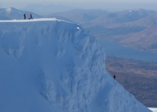 Tower Ridge, IV 3 ****, Ben Nevis