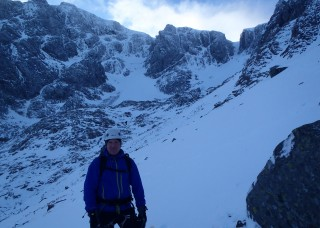 Good conditions on Ben Nevis