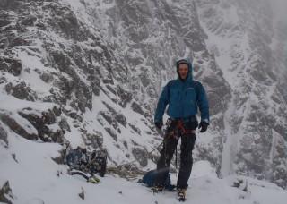 Standing on the Douglas Boulder