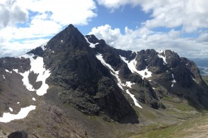 A view of the North Face from CMD