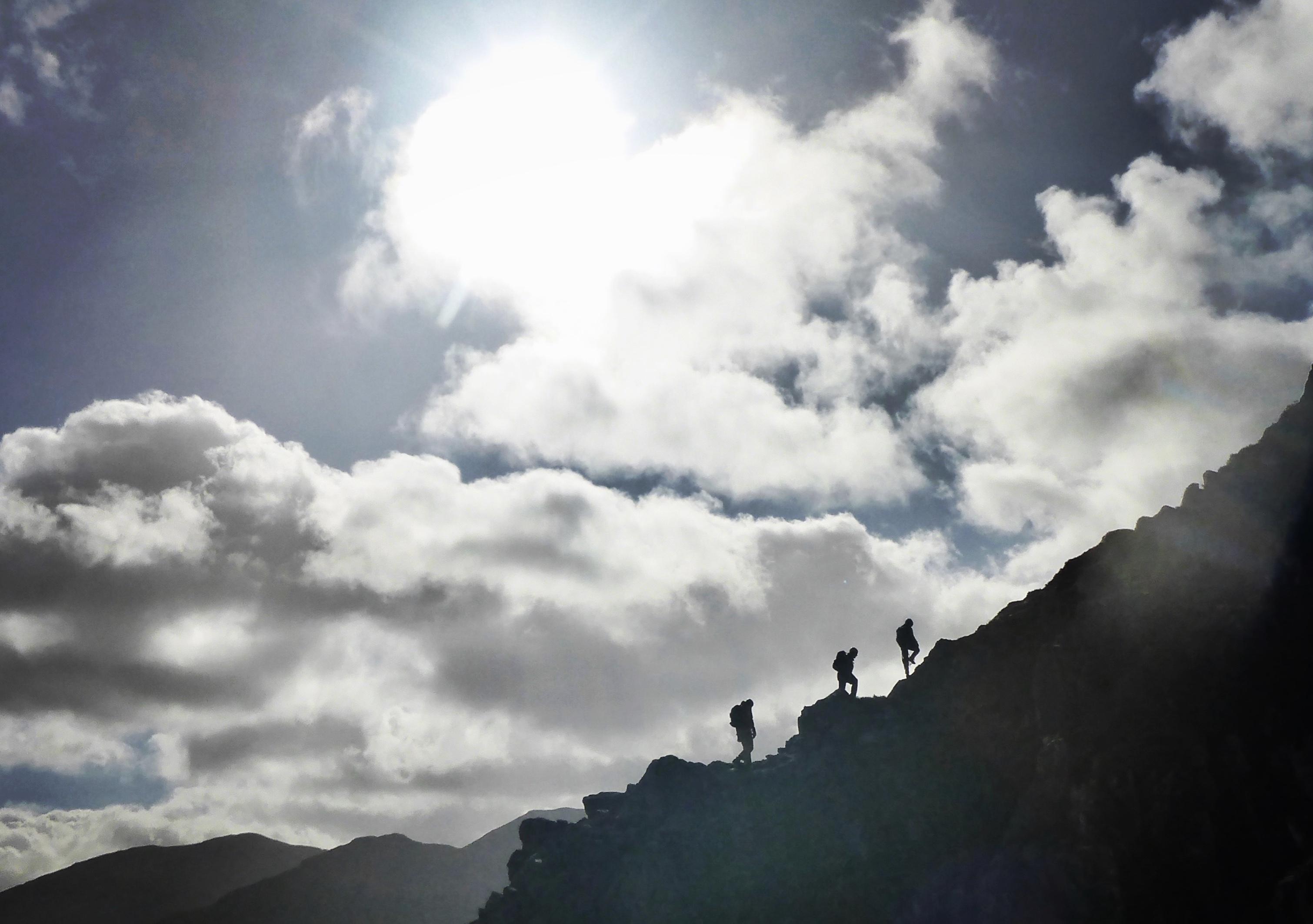 Curved Ridge on Buachaille Etive Mor
